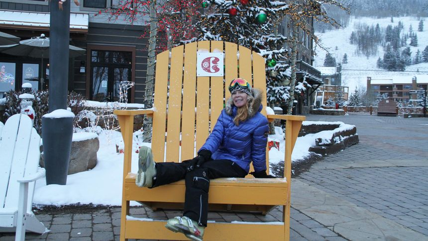Christmas at Copper Mountain ski resort
