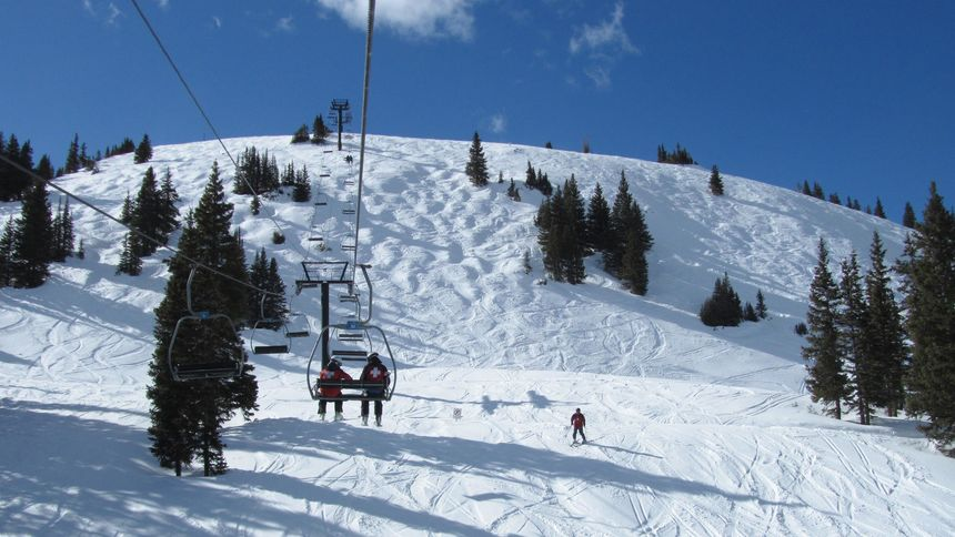 Terrain at Copper Mountain ski resort