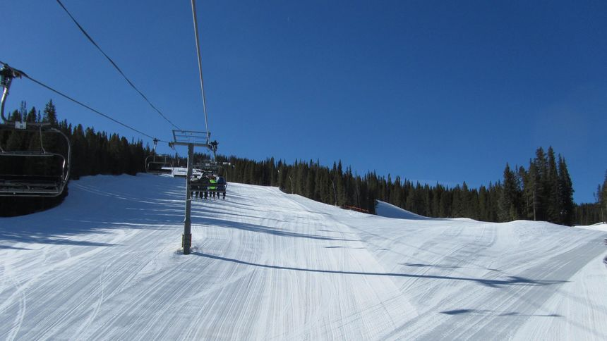 Terrain at Copper Mountain
