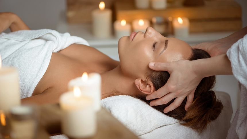 spa treatment relax facial