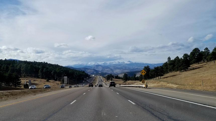 I-70 from Golden to Idaho Springs