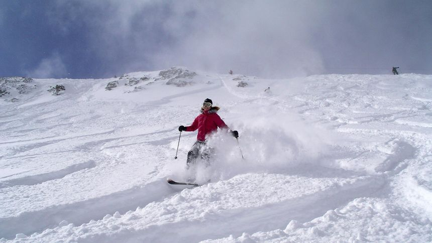 powder days at squaw valley
