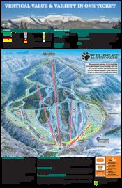 Wildcat Mountain Ski Resort map