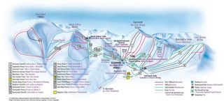 Glenshee Ski Centre map