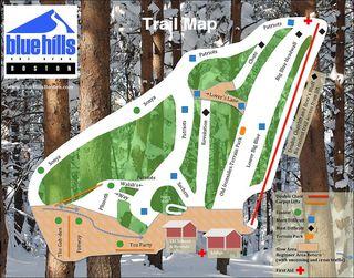 Blue Hills map