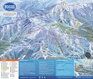 Bogus Basin map