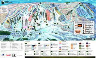 Boyne Highlands trail map