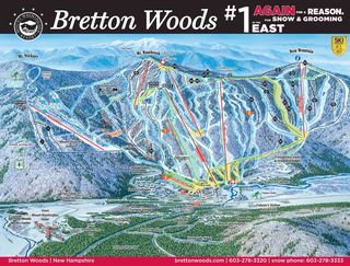 Bretton Woods trail map
