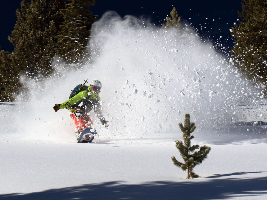 Escape the resort crowds at Breckenridge by doing some activities