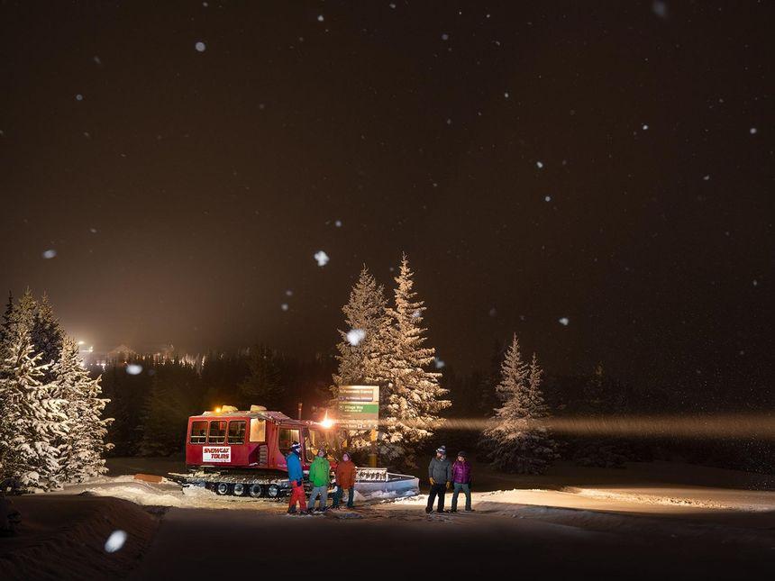 Winter Park Resort snowcat tour activity