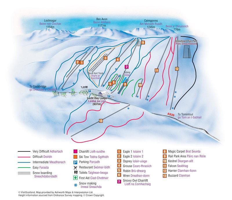 Lecht 2090 Trail Map