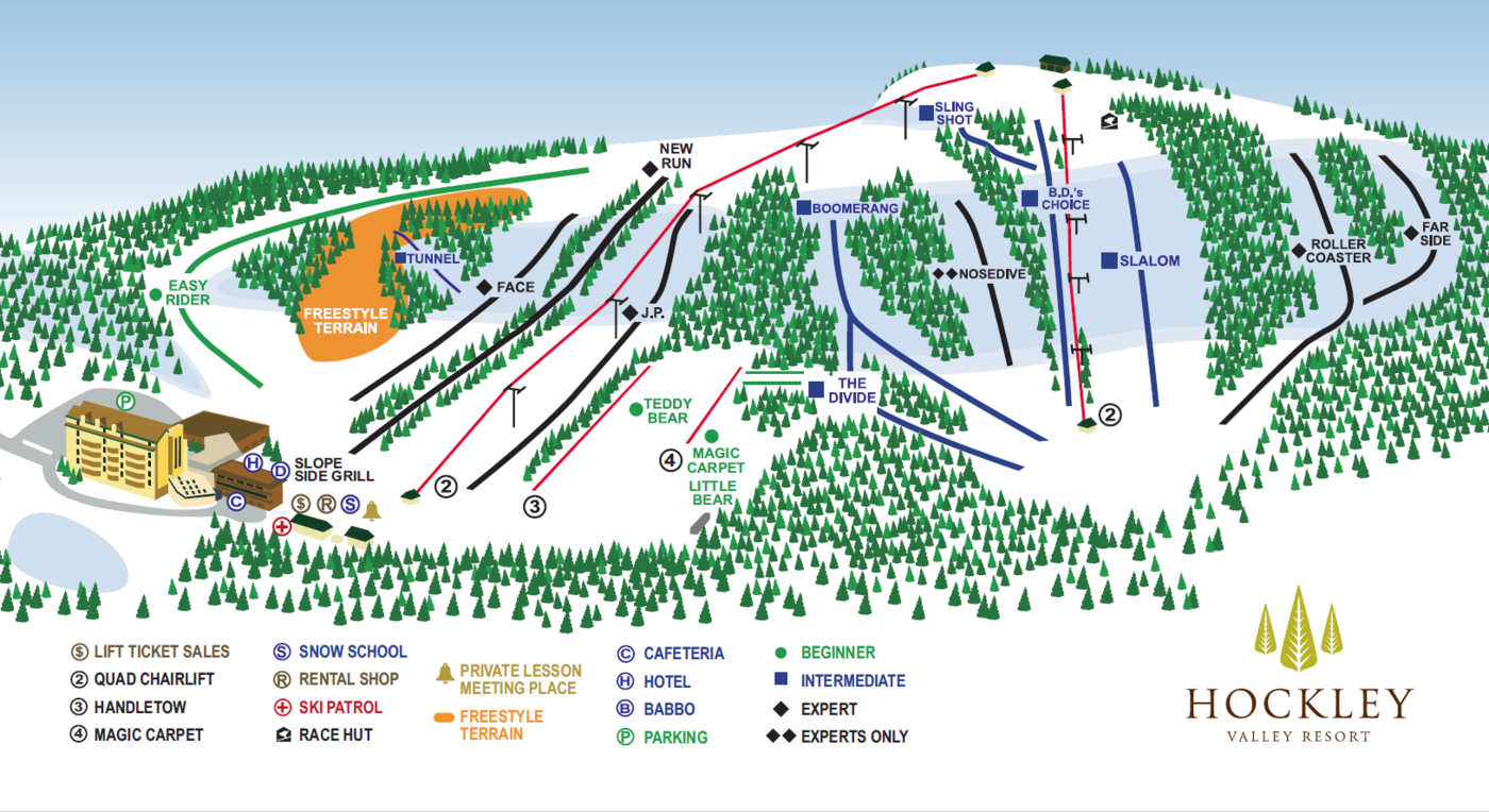 Hockley Valley Trail Map