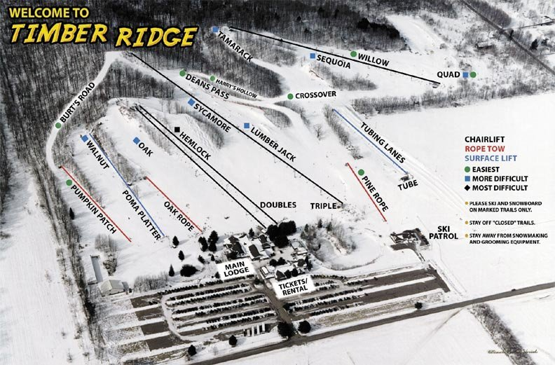 Timber Ridge Trail Map