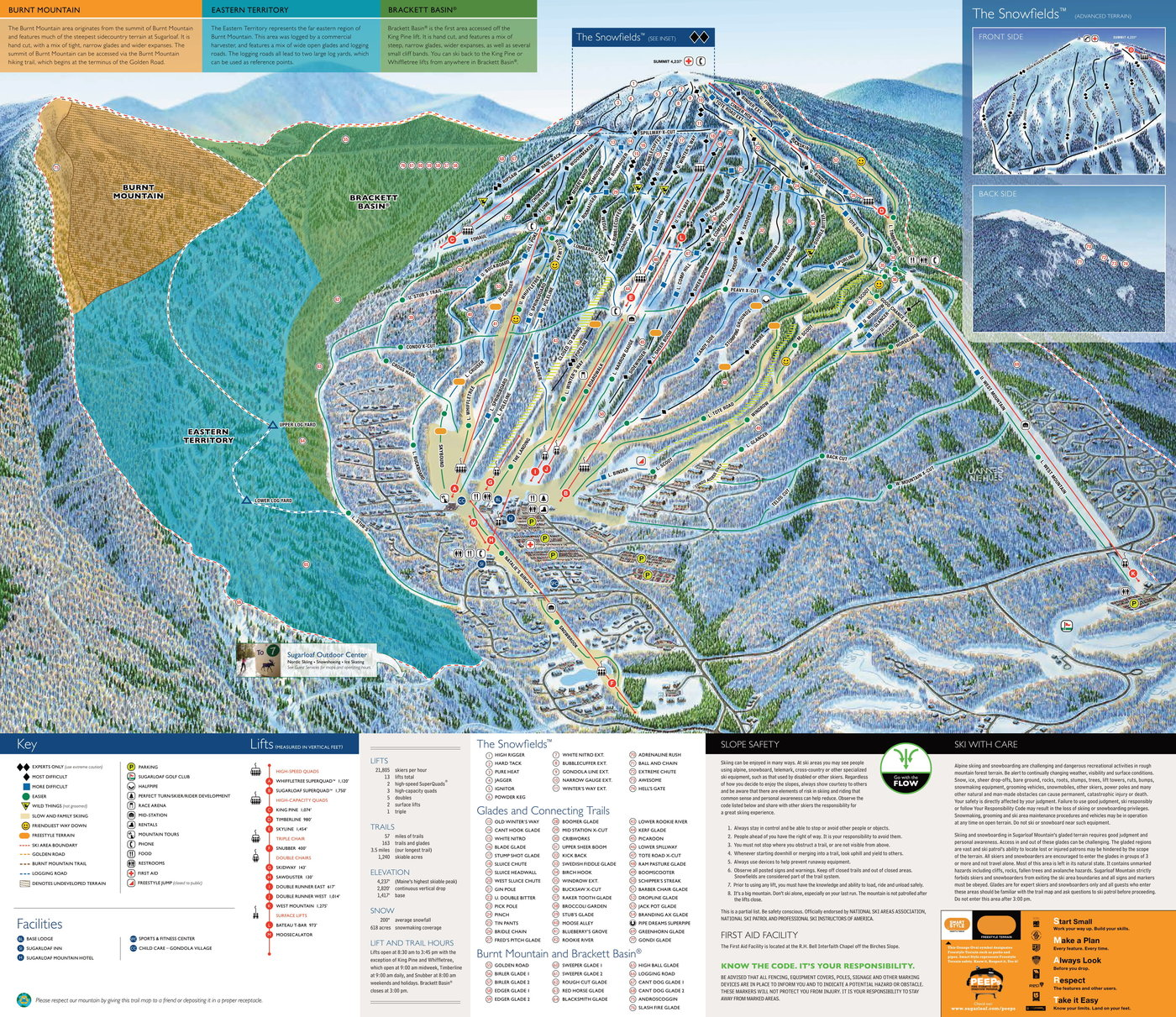 Sugarloaf Trail Map