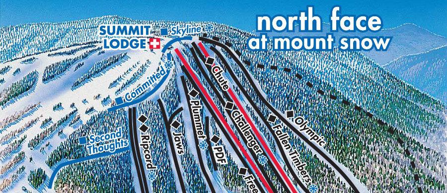 Mount Snow Trail Map